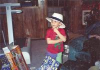 grandson justin beerman  as toddler