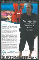 governor's award poster